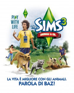 Marco Bazzoni nuovo testimonial di The Sims 3 Animali & Co.!